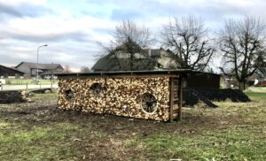 Bau Hügelbeete Dezember 2019